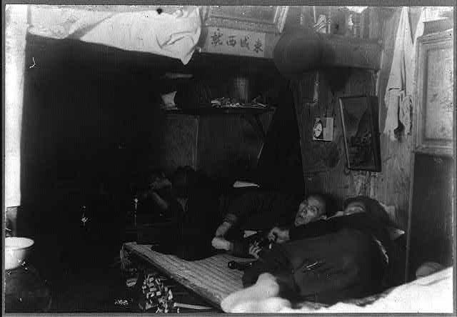 19th century Chinese Opium Den